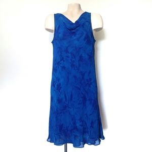 Jones Wear Sleeveless Flowy A-Line Dress